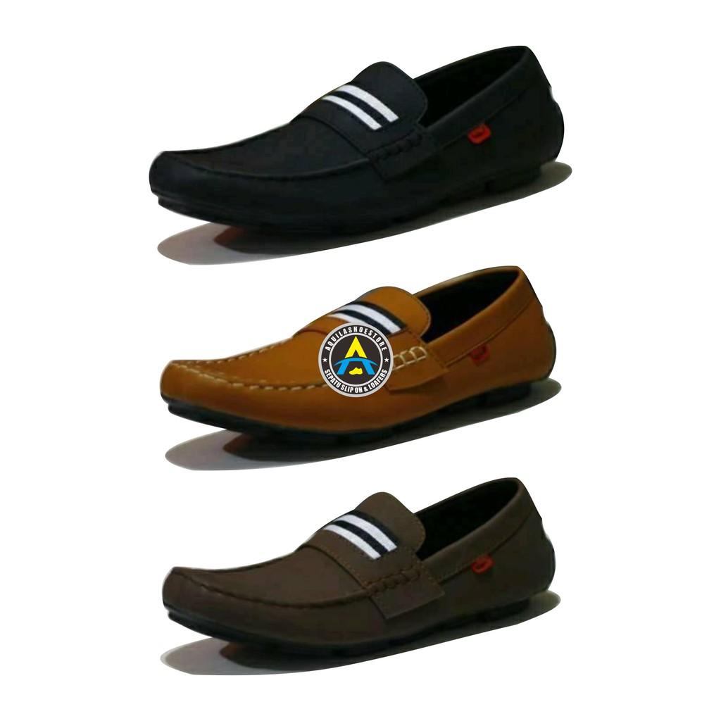 Sepatu Original Goodness (Gdns) Casual Slip On Space Canvas Pria Hitam  6946cab9c8
