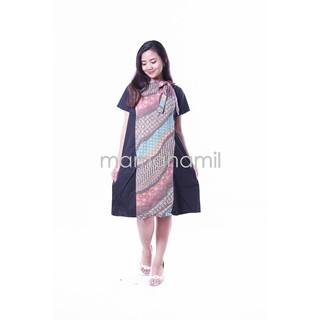 Dapatkan Harga Batik Dress Batik Baju Hamil Baju Menyusui Diskon
