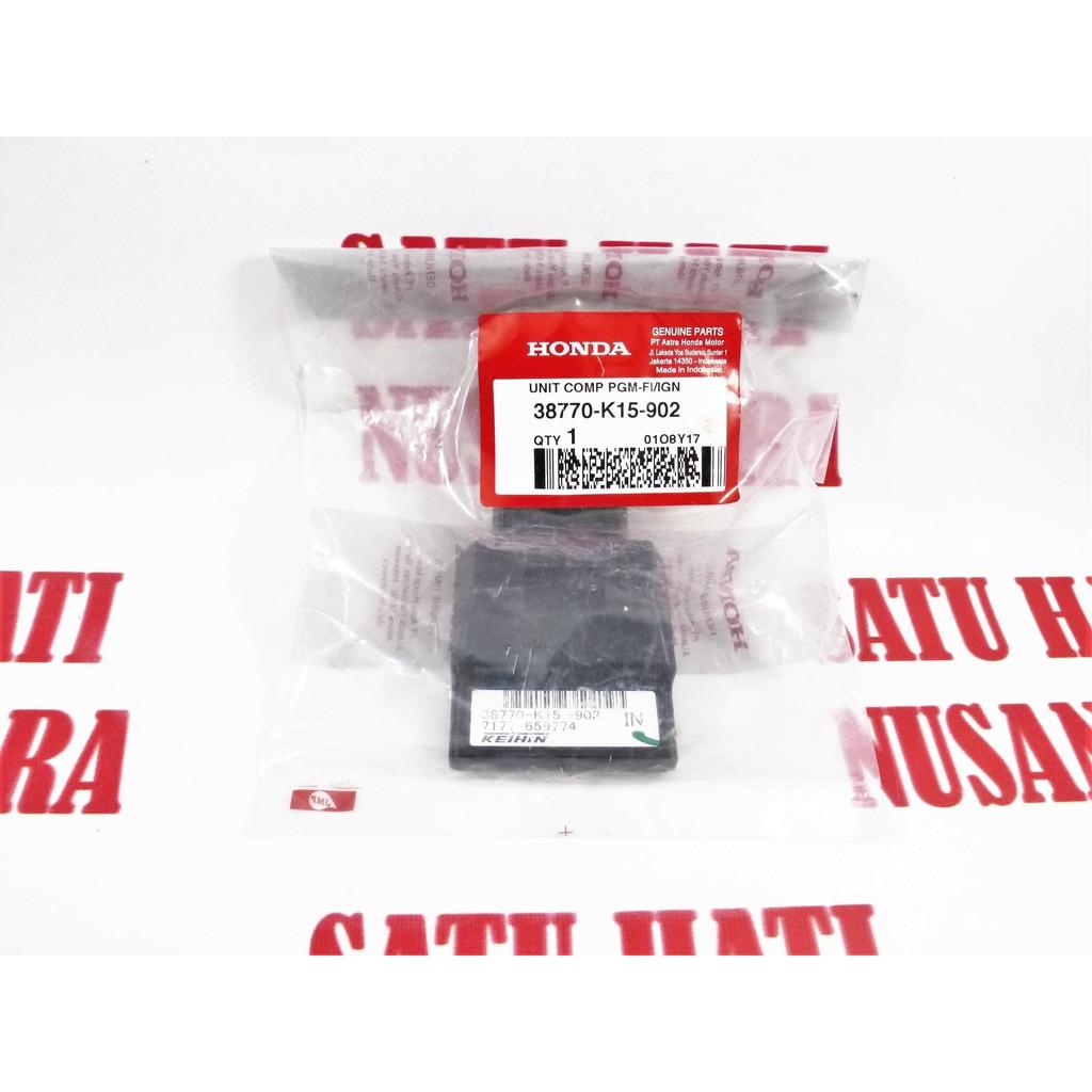Beat Fi Esp Scoopy Honda Ori Ecu Pgm Ecm Cdi Ign Unit Comp Beli Eng Control Vario 150 Non