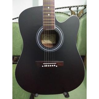 Gitar Akustik Jumbo Merk Yamaha Black Doff Trusrod Murah Jakarta Suka 1