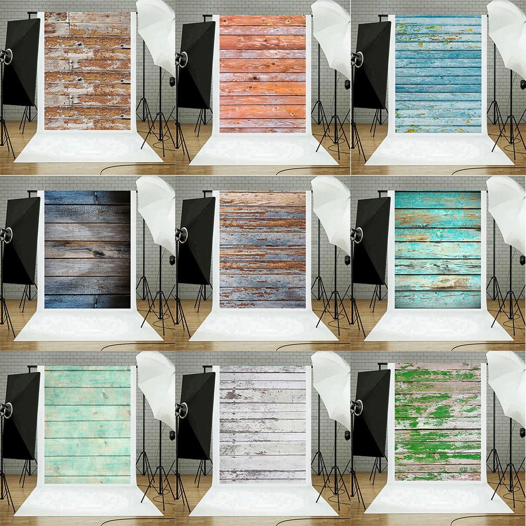 Vinyl Wood Wall Floor Photography Studio Prop Backdrop Background 3x5ft Shopee Indonesia