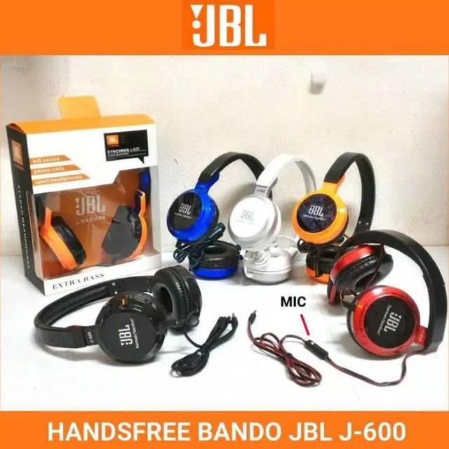 Headset bando + mic JBL J600