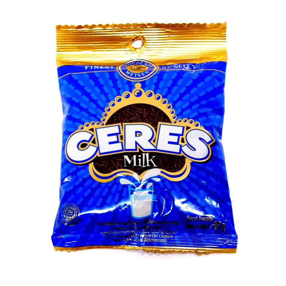 Ceres Milk Chocolate Meises Meses Coklat Seres Bungkus Biru 225gr Classic 225 Gr Shopee Indonesia