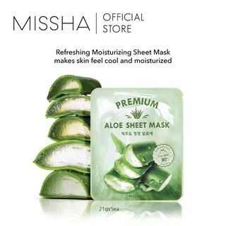 [BPOM] Missha Premium Aloe Sheet Mask 3