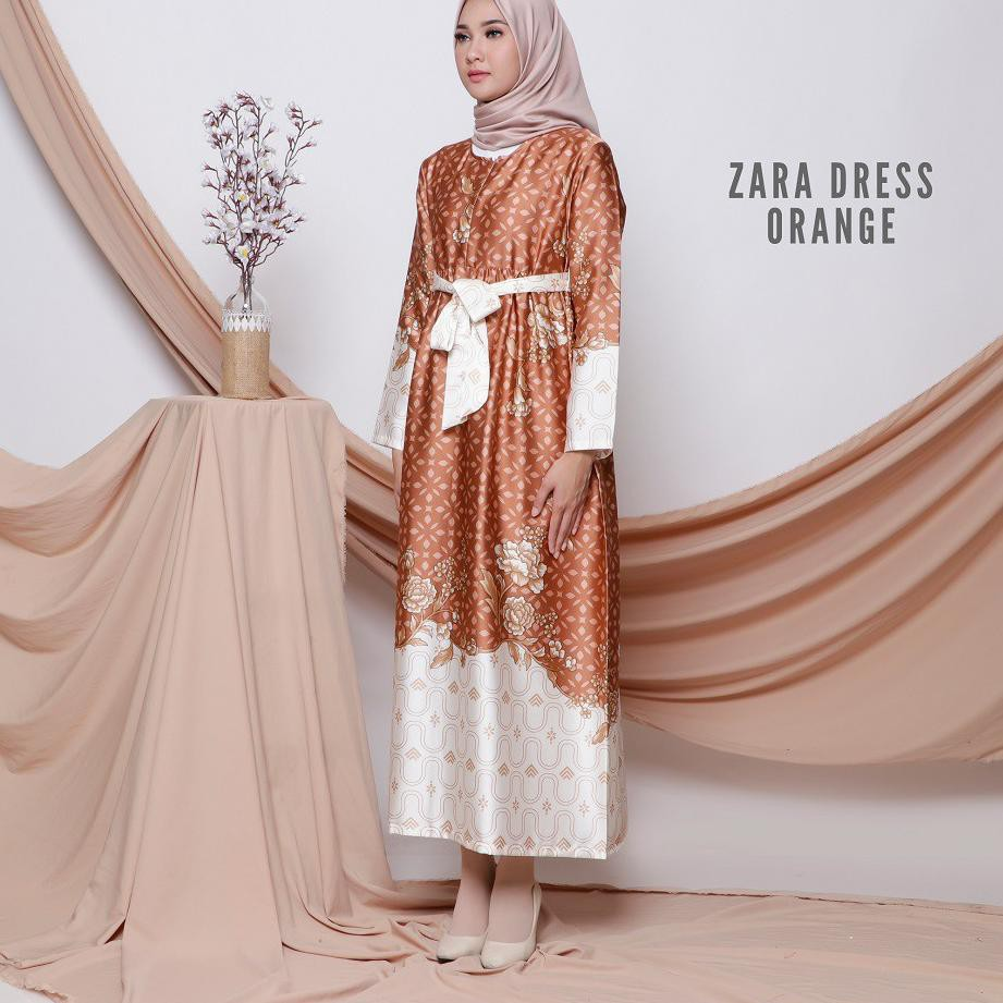 ﷼ Zara Dress - Baju Gamis Wanita Muslim by FEMINE الترويجي