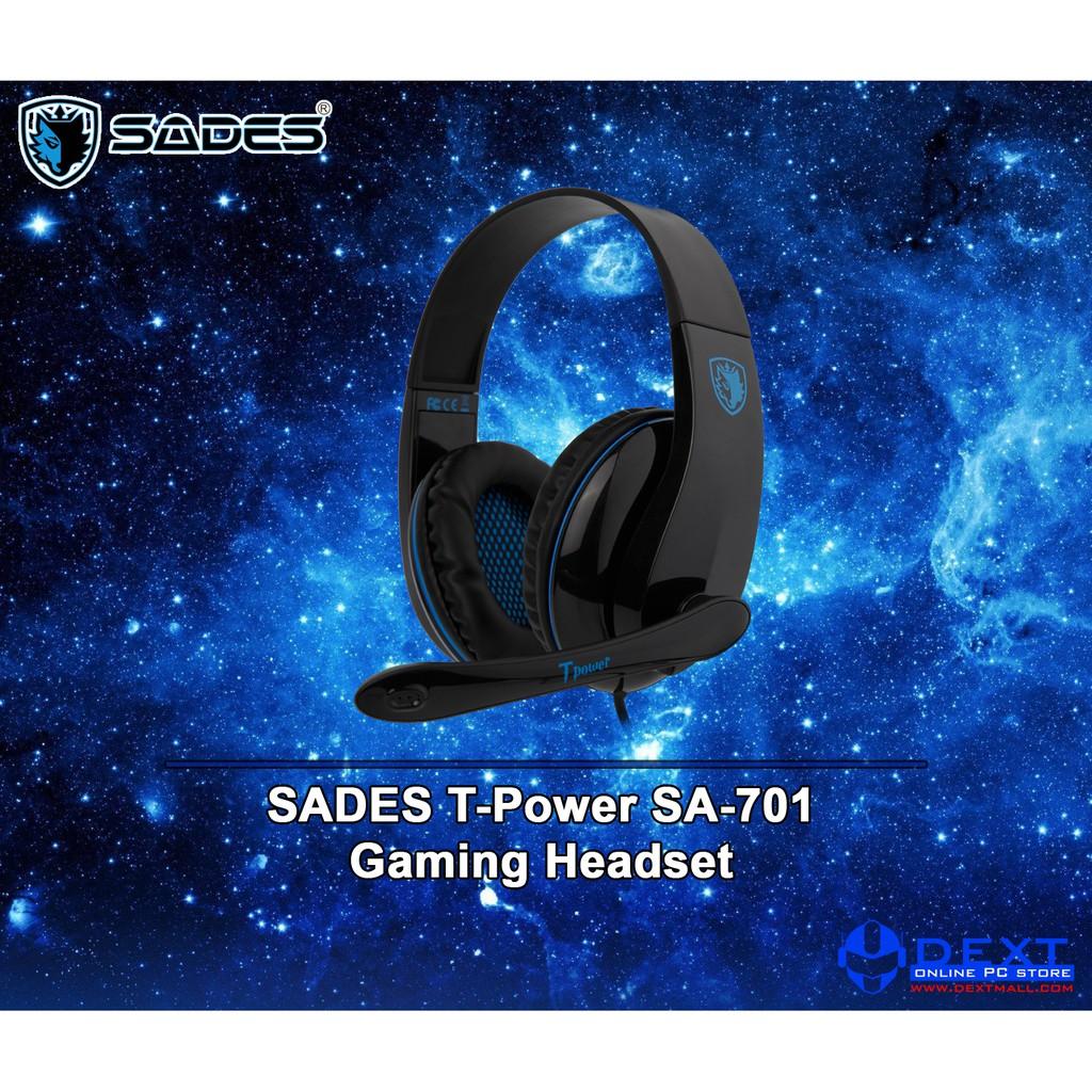 Sades Luna Sa 968 Gaming Headset Shopee Indonesia Tpower 701