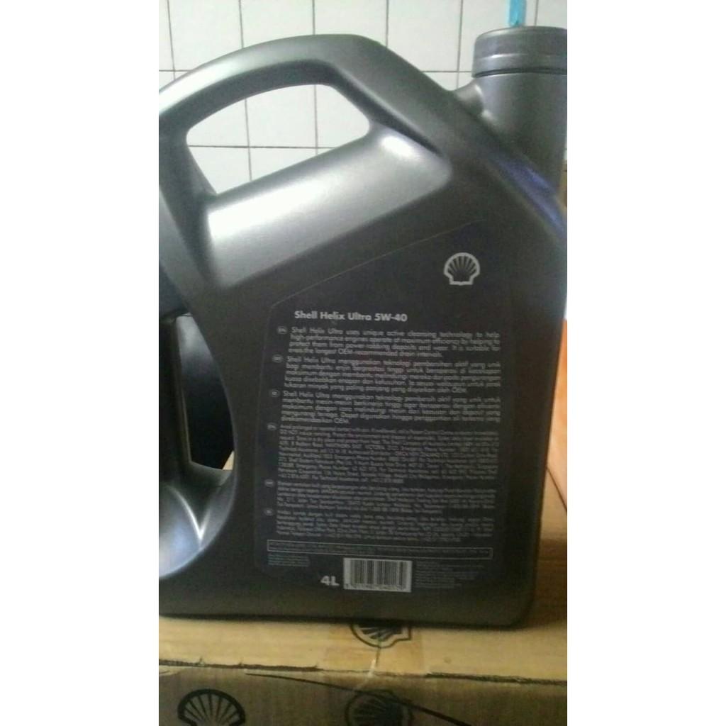 Harga Jual Oli Shell Helix Hx7 Sae 10w 40 Galon 4lt 09649 Api Sn Cf Mobil Mesin Bensin 4 Liter Unik Ultra 5w Fully Synthetic L