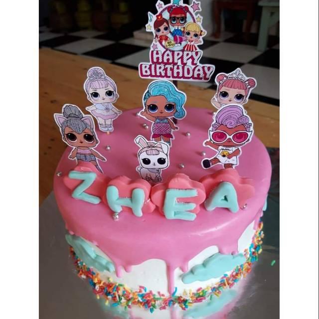 Kue Ulang Tahun / Kue Ulang Tahun LOL / Kue Ulang Tahun Little Pony