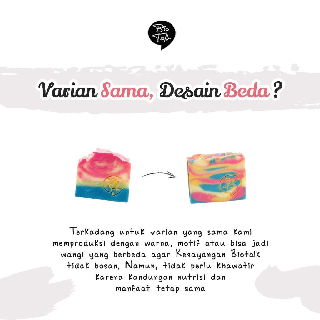 BioTalk Sabun Shampoo Natural Herbal | Gentleman's Bar Shampoo Soap | Kulit Normal |120 gram-8