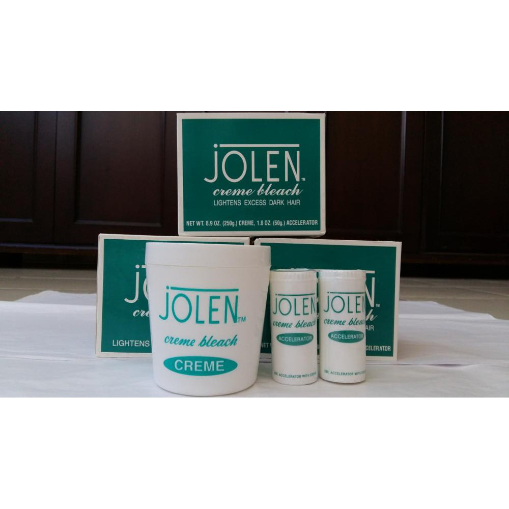 Jolen Bleach Cream 140gr .