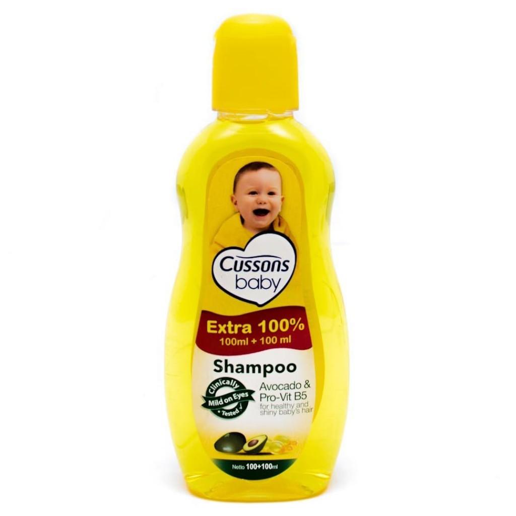 ORIGINAL Cussons Baby Shampoo 100ml+100 ml & 50ml+50ml / Cusson Shampoo Bayi / LEDI MART-3