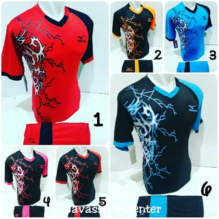 [TERLARIS MZ 04] ]Baju Volly Jersey Olahraga Futsal Kaos Bola Setelan Voli Volley Badminton