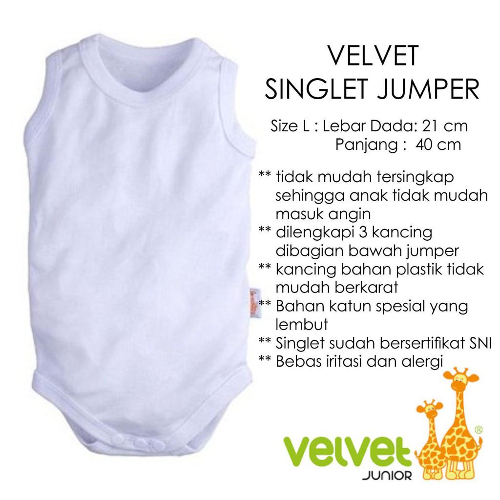 Velvet Jumper Singlet Bayi Isi 3pc Shopee Indonesia Kazel 6pcs New 9 12 Bulan