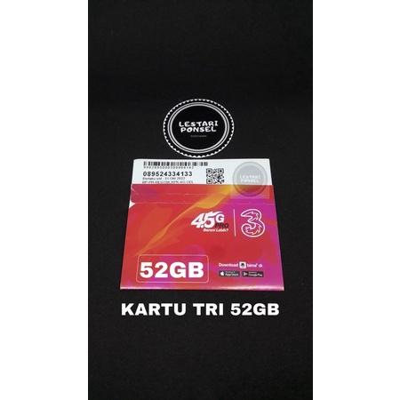 Kartu Tri Happy 52GB