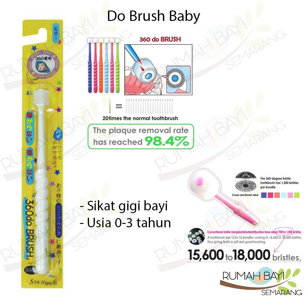 Baby Tooth Brush Sikat Gigi Bayi Dan Anak 3in1 Little Giant Finger Banana Toothbrush Set Shopee Indonesia
