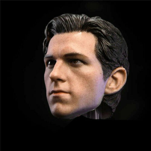 1//6 Tom Holland Head Sculpt for Spider-Man The Avengers for 12/'/' male figure