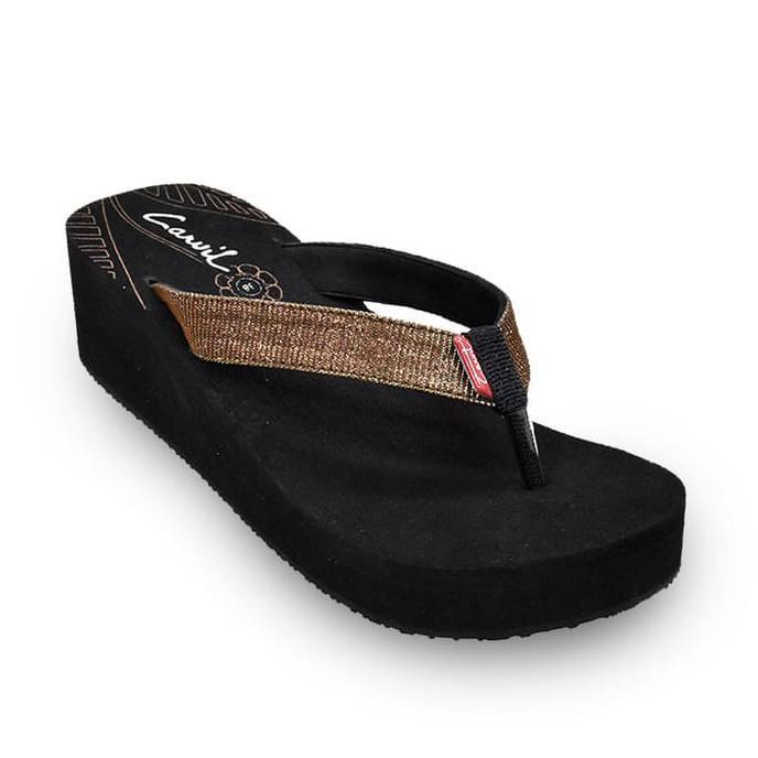 Kualitas Terbaik CARVIL SANDAL SPONGE LADIES SELDON L BLACK/BEIGE - Beige, 38 BARANG BAGUS   Shopee Indonesia
