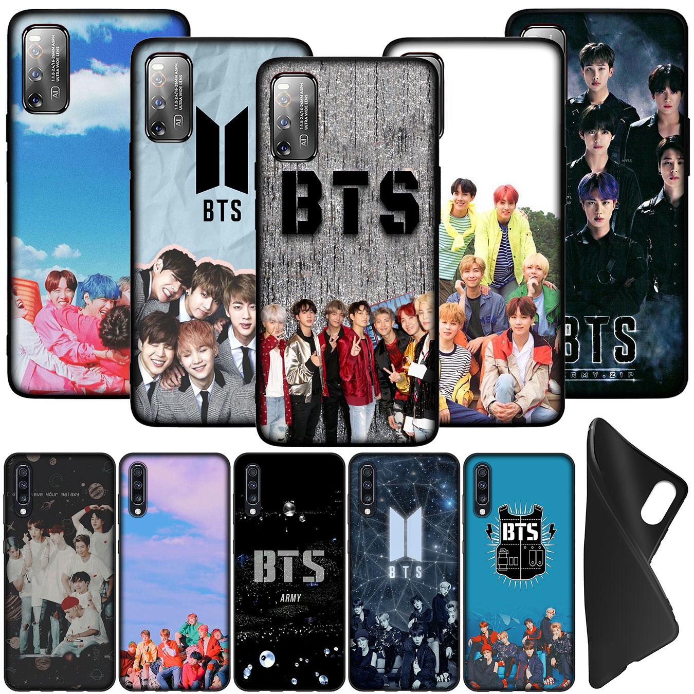 Soft Case Silikon Tpu Motif Bangtan Boys Bts Untuk Oppo A15 A15S A54 A94 A95 4g 5g