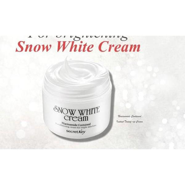 Secret Key Snow White Cream 50gr Krim pemutih wajah ...