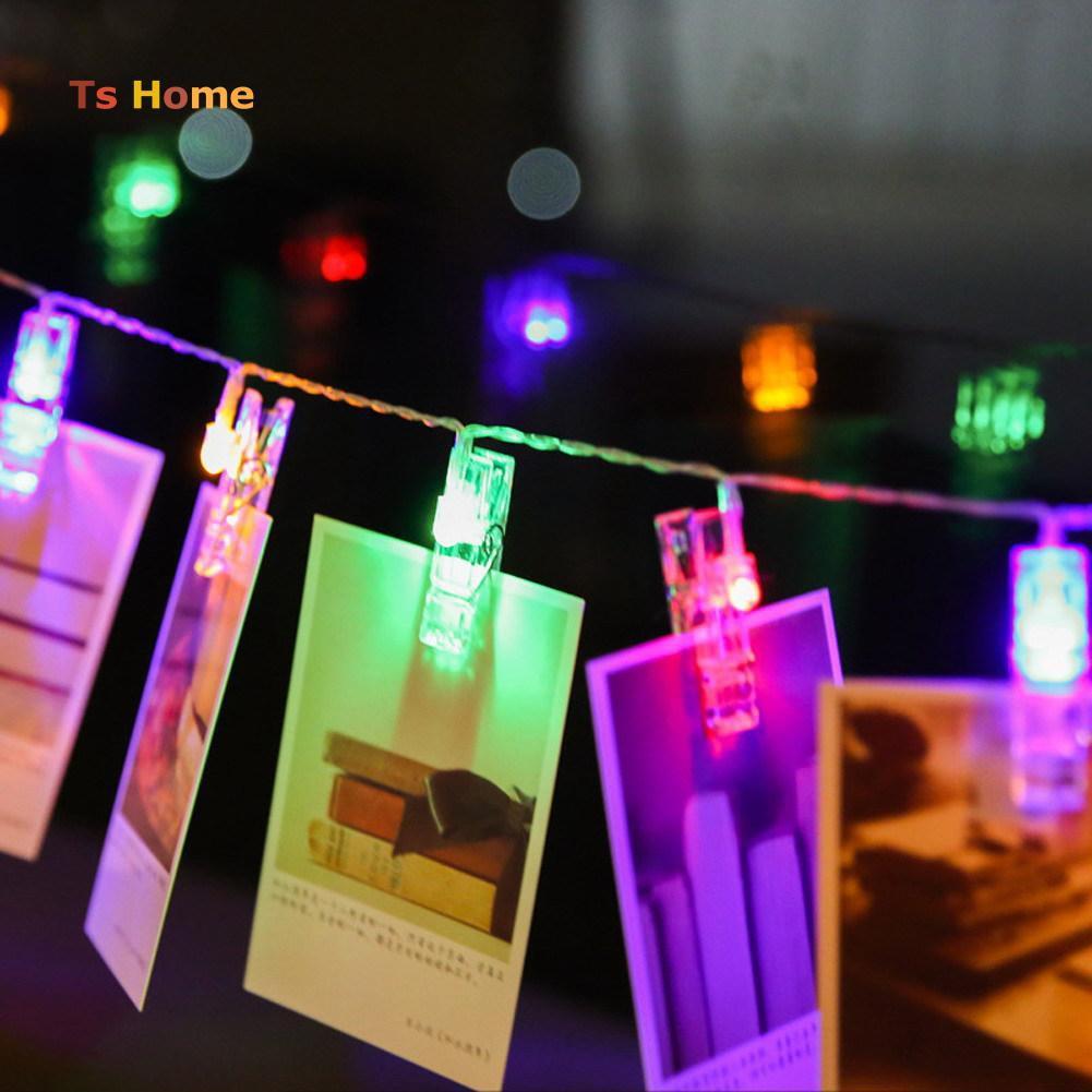 Elhshop Wooden Klip Plus Lampu Tumblr Penjepit Foto Shopee Indonesia Led Natal Dekorasi Twinkle Light String Biru
