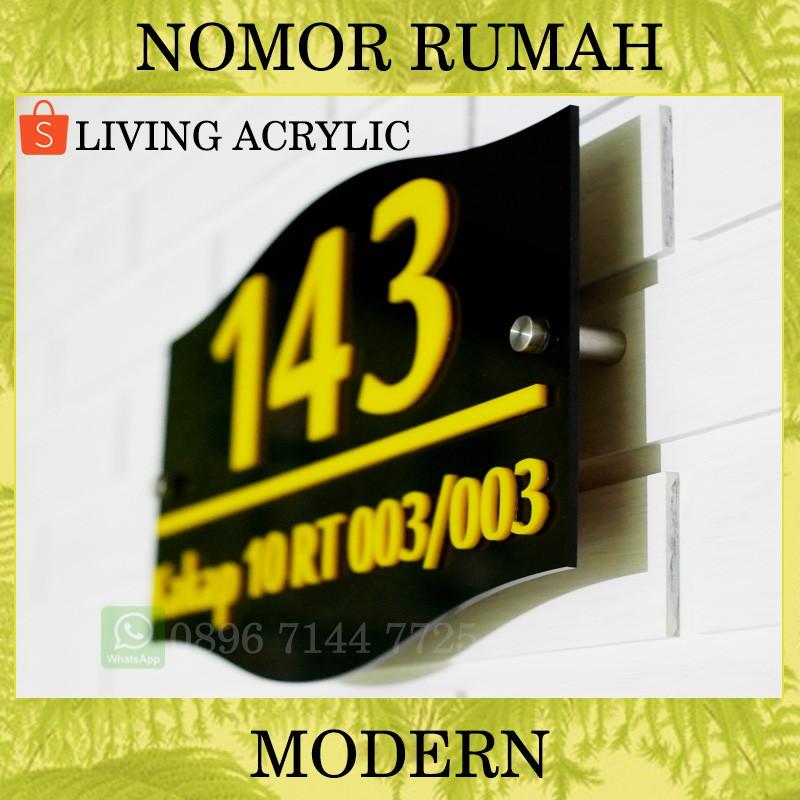 Harga Nomor Rumah Acrylic Terbaik Dekorasi Perlengkapan Rumah Maret 2021 Shopee Indonesia