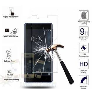 Tempered Glass Nokia 3 / Anti Gores Kaca / Screen Protector / Screen Guard / Pelindung Layar -Clear