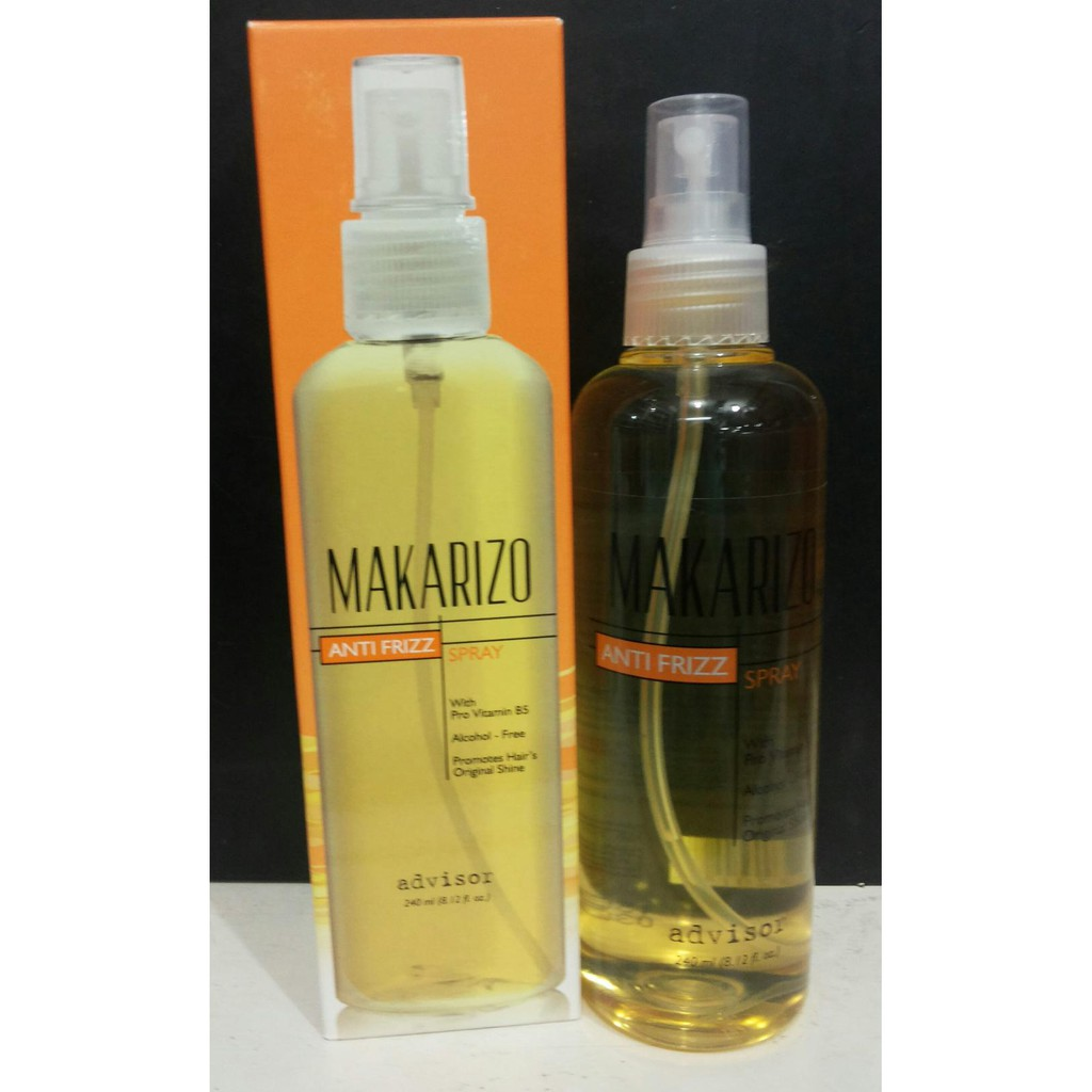 Makarizo Anti Frizz 240ml Daftar Harga Terkini Dan Terlengkap Advisor Kusut Spray 240 Ml