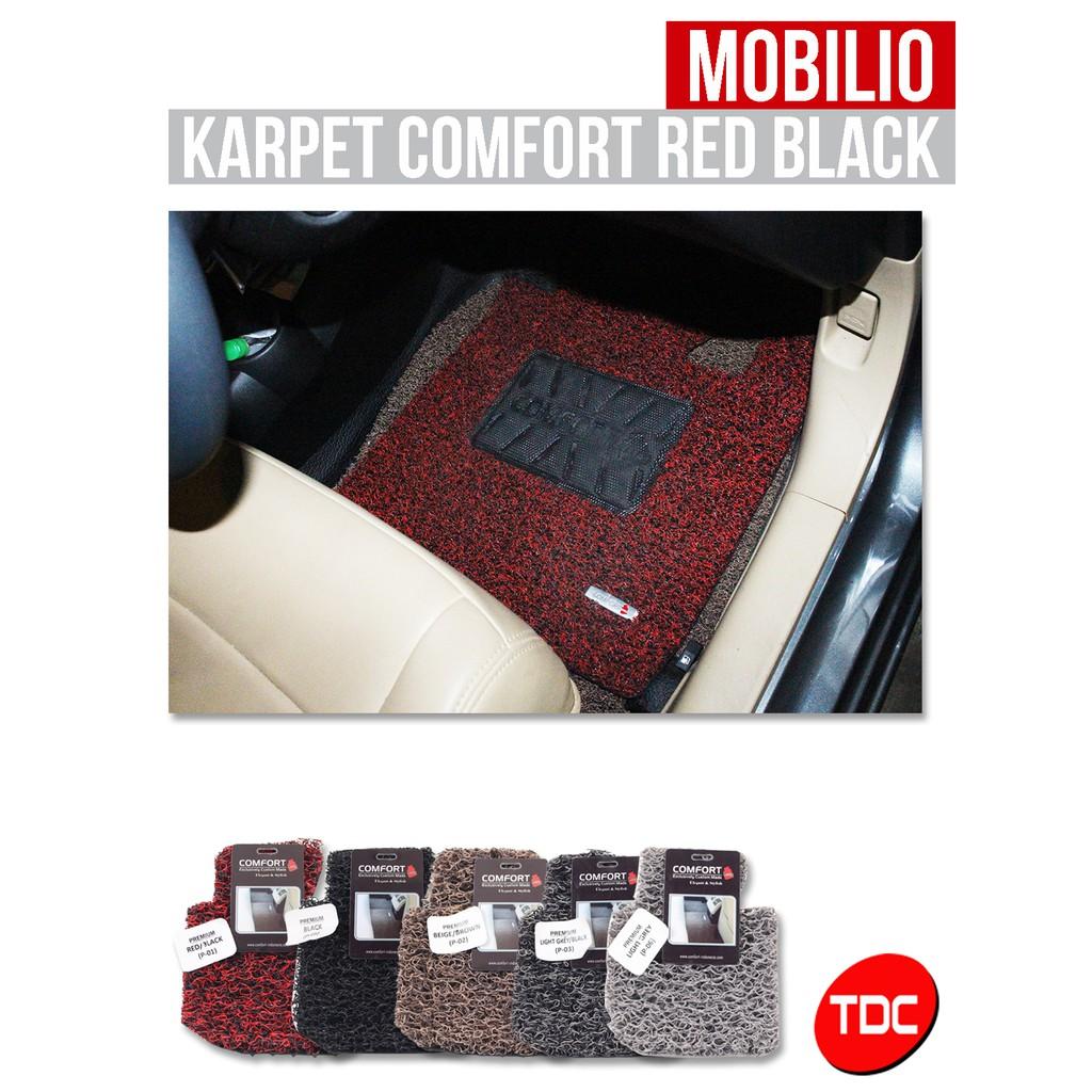 KARPET MOBIL UNIVERSAL PVC MIRIP KARET 3PCS SPECIALZEDMAT | TDC VARIASI | Shopee Indonesia