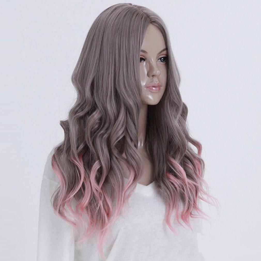 Rambut Wig Ekstensi Panjang Alami Keriting dan Bergelombang untuk Wanita | Shopee Indonesia