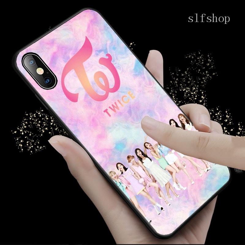Casing Samsung Galaxy A01 A11 A21 A21s A31 A41 M21 S11 Note 20 Plus Gambar Logo Twice Momo Warna Hitam Shopee Indonesia