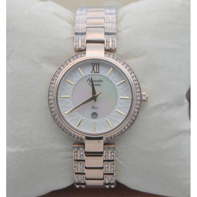 Jam Tangan Wanita Alexandre Christie Ac 2679 Soft Gold Original - yeniwatch d29a553a7e