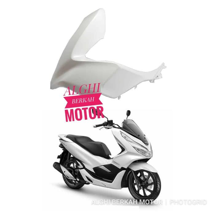 Cover L Front Side Kiri putih PCX 150 lokal 64502-K96-V00ZU