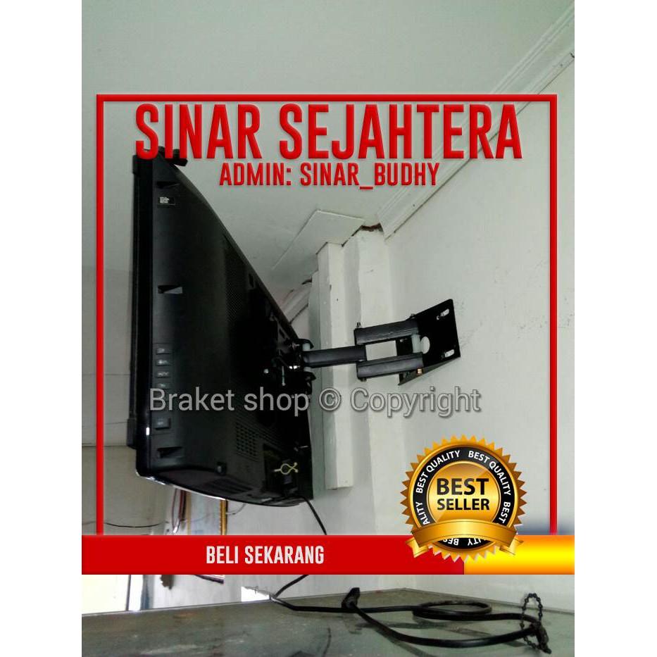 Bracket Breket Braket Lengan Tv Led 32 43 Inch Shopee Indonesia Universal 15 Lcd Maxx Dinding Bagus Grosir