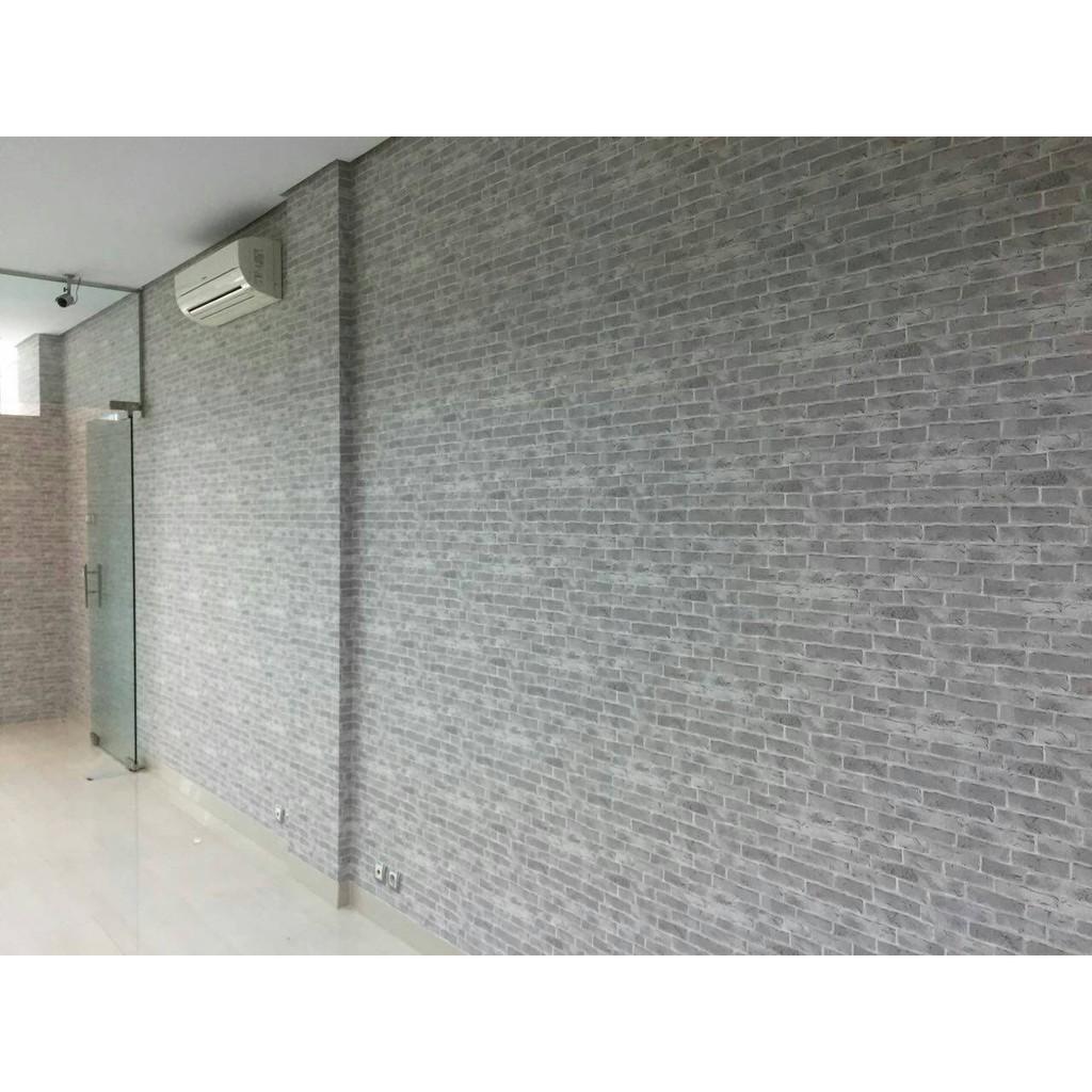 Best Seller Wallpaper Dinding Murah Motif Batu Bata / Supplier