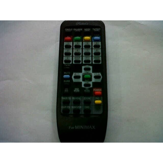 SUPER MURAH - REMOTE MINIMAX TV POLYTRON,DIGITEC