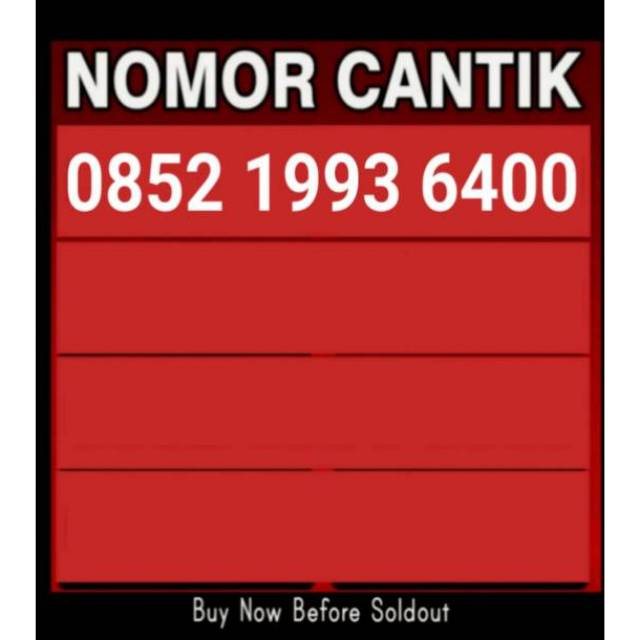 Nomor Cantik As | Perdana As | Kartu Perdana Telkomsel | Shopee Indonesia