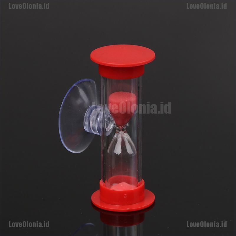 Toothbrush swivel sand timer 3 minutes shower timer kids mini glass sand clock M