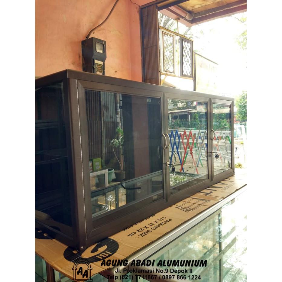 Unik Kitchen Set Alumunium Cokelat Limited Shopee Indonesia