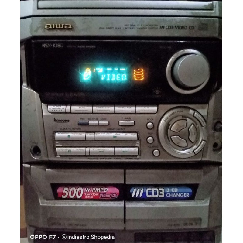 Head Compo HIFI Aiwa NSX-K180