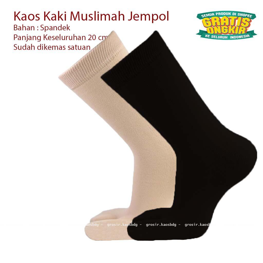 Promo Belanja Kaoskakimuslim Online Agustus 2018 Shopee Indonesia Kaos Kaki Jempol Florist Wr 008