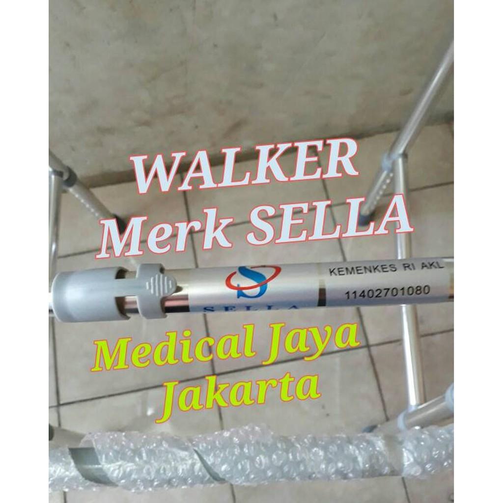 Walker Sella Ky913lalat Bantu Jalan Alatbantu Fisioterapi Tongkat Manula Lampu Led Lipat Trusty Cane Alat Jemuran Segiempat Shopee Indonesia