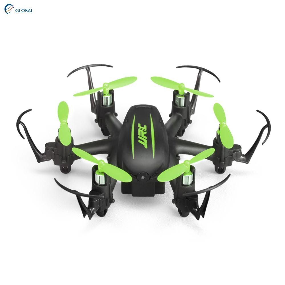 Mini 24ghz 4ch 6axis Gyro Rc Quadcopter Uav Headless Mode Drone Mainan Anak Jjrc H36 Warna Biru Putih Shopee Indonesia