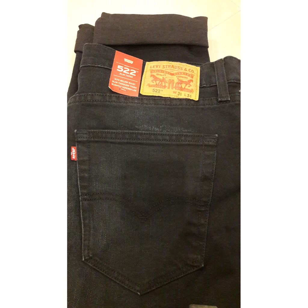 Levis 512t Slim Taper Fit Biscuits 28833 0101 Shopee Indonesia 501r Original Crispy Rins 00501 1484 Size 38