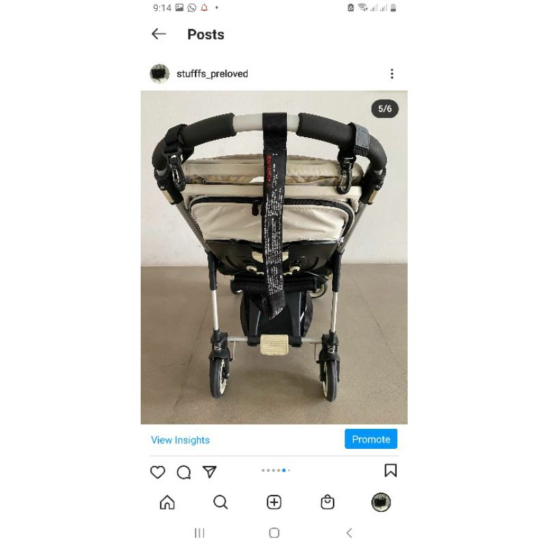 preloved bugaboo bee 3 great deal