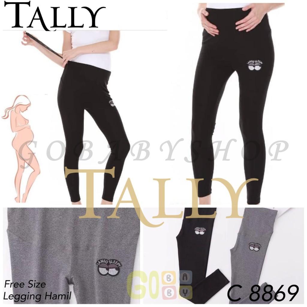 Legging Hamil Celana Hamil Maternity Pant Tally 8869 Legging Hamil Murah Gobabyshop Shopee Indonesia