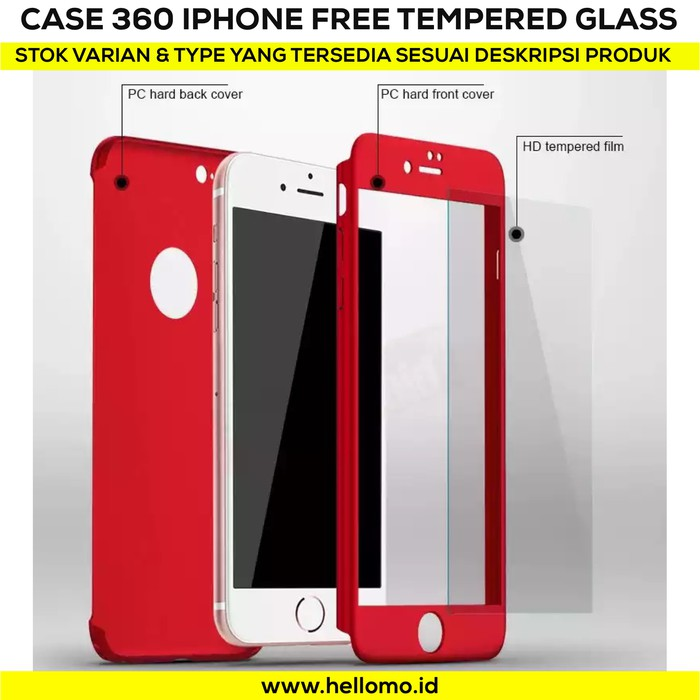 Case 360 Full Protective Iphone