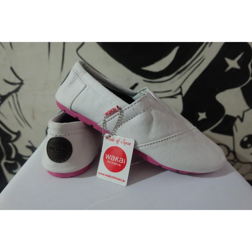 Sepatu Wakai Paris Pink Grade Ori Shopee Indonesia Gamis Raindoz Bbr229