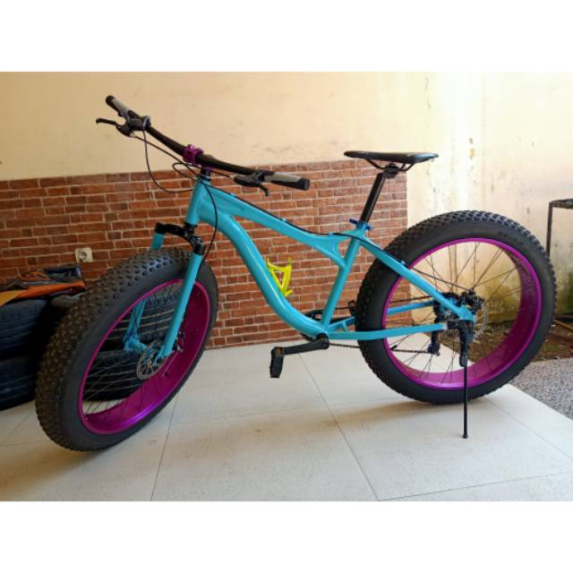 Sepeda Fatbike Genio Modif Shopee Indonesia
