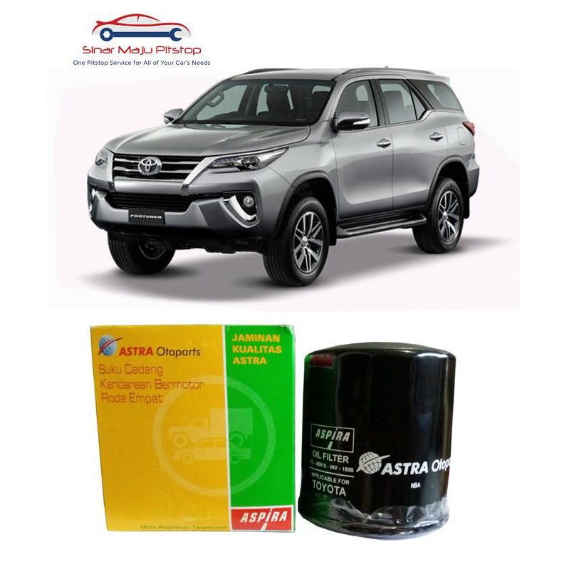 Paket Oli Mobil Tmo 10w 40 6 Liter Filter Oli Aspira Toyota Fortuner Shopee Indonesia