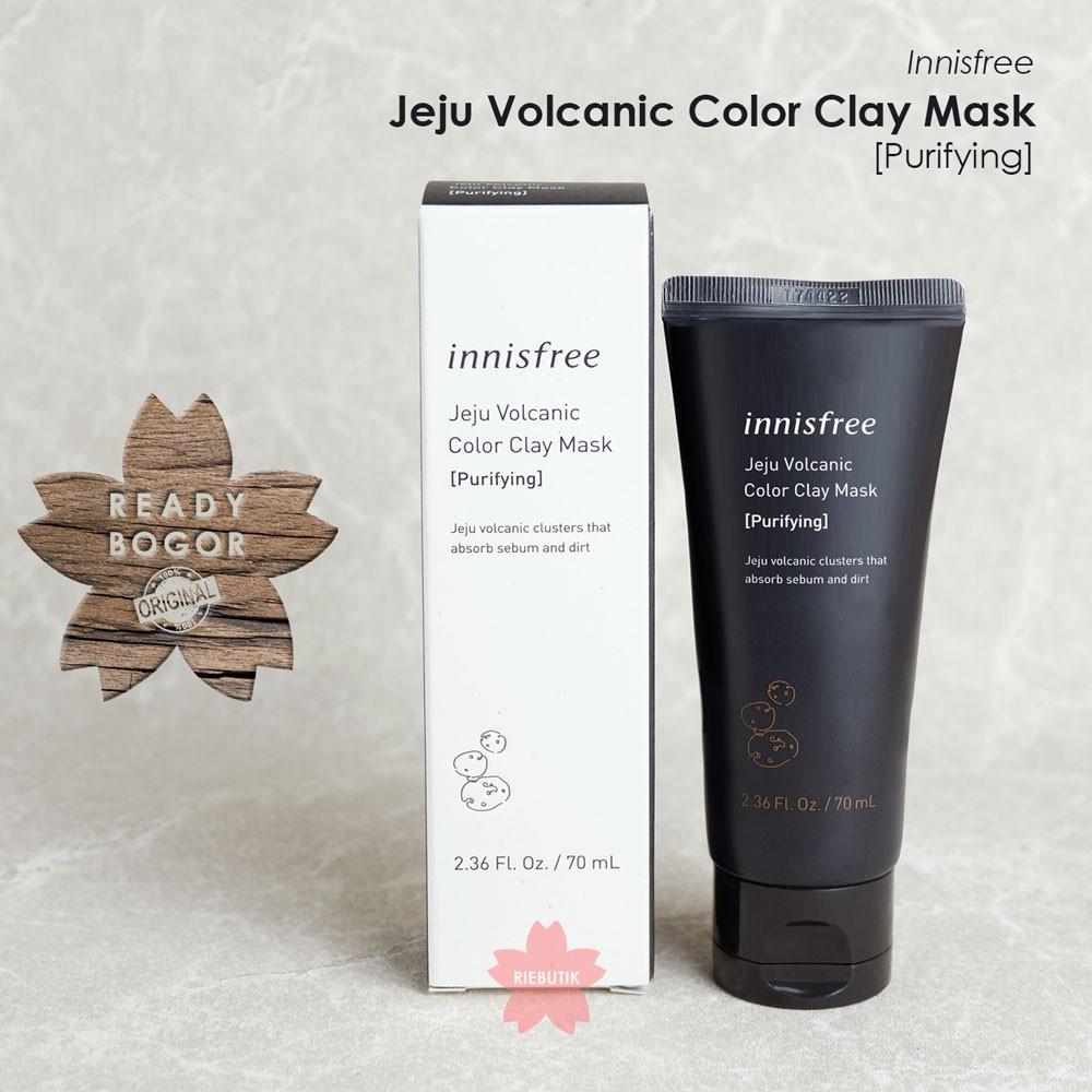 Kemasan Baru Innisfree Jeju Volcanic Color Clay Mask Shopee Indonesia
